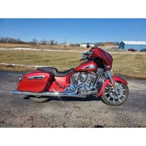2019 Indian Motorcycle® Chieftain® Limited Ruby Metallic  2019 Indian Motorcycle® Chieftain® Limited Ruby Metallic, Red with 701 Miles ava