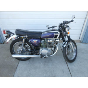 1973 Honda CB350G  1973 Honda CB350G  Clean Title  Purple & Black-1 Year Only Color    NICE BIKE
