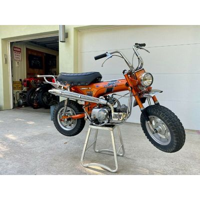 1971 Honda CT  1971 Honda CT 70 H Mini Trail 4 speed – Unrestored 3.300 milles collectors item