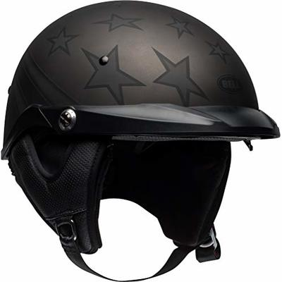 Bell Pit Boss Half Helmet (Honor Matte Titanium/Black – Large)