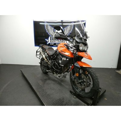 2016 Triumph Tiger  Dream Machines of Austin  2016 Triumph Tiger 800 XRT  30590 Miles Orange